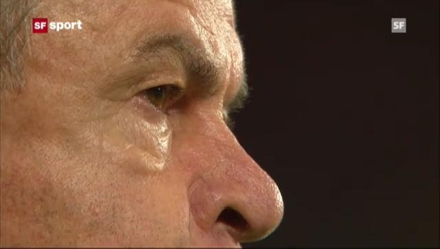 Hitzfeld wegen «Stinkefinger» für 2 Spiele gesperrt («sportaktuell»)
