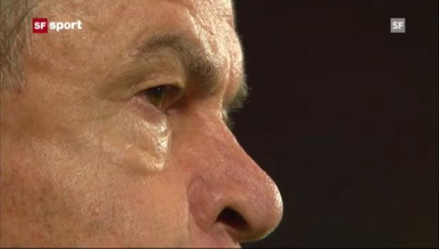 Video «Hitzfeld wegen «Stinkefinger» für 2 Spiele gesperrt («sportaktuell»)» abspielen