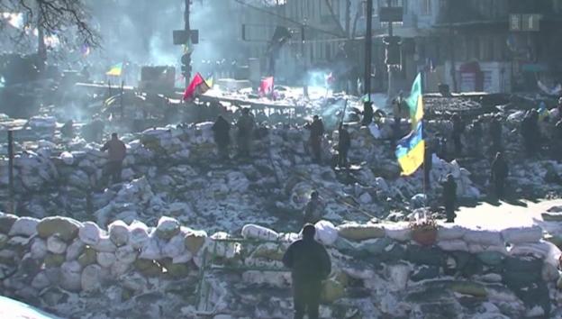 Video «Ukraine: Die Rechte im Vormarsch» abspielen