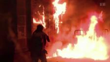 Video «Gewalttätige Demonstrationen in Mexiko» abspielen
