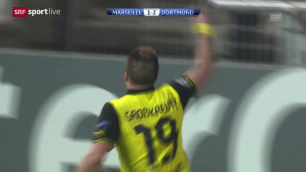 Video «Fussball: CL, Marseille - Dortmund («sportlive», 11.12.2013)» abspielen