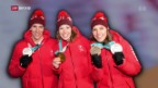 Video «Schweizer Medaillensegen in Südkorea» abspielen