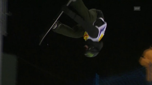 Video «Snowboard: Der 1. Quali-Run von Iouri Podladtchikov» abspielen