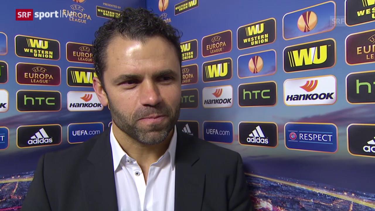 Fussball: Europa League, Everton - YB, Interview mit Uli Forte