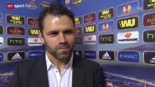 Video «Fussball: Europa League, Everton - YB, Interview mit Uli Forte» abspielen