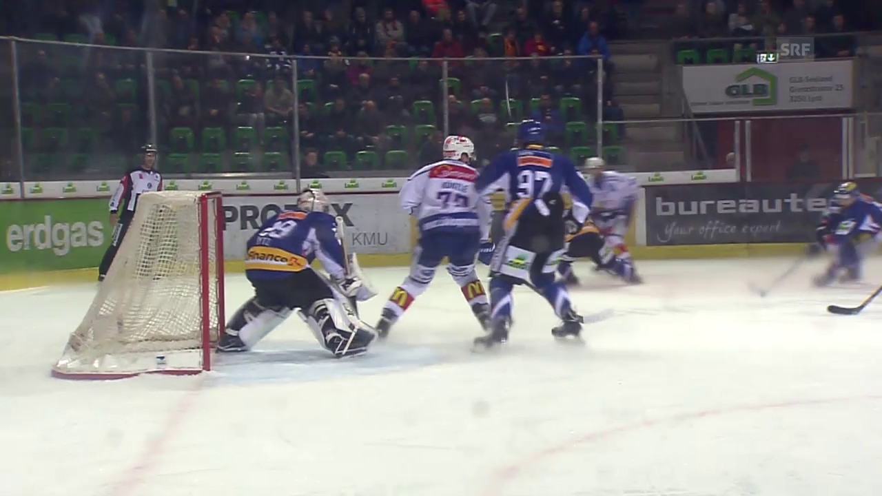 Eishockey: ZSC Lions-EHC Biel, der Video-Rückblick
