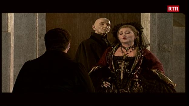Laschar ir video «Markus Monn - statist a l'opera da Turitg (2003)»