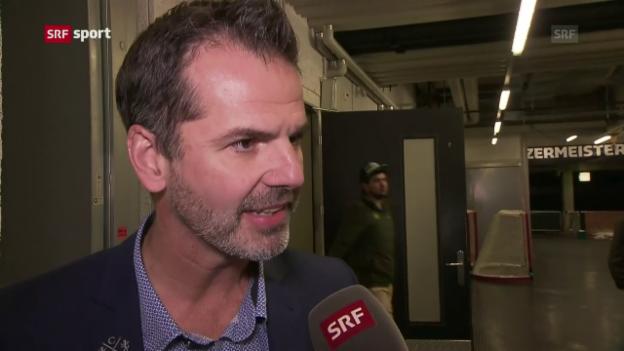 Video «Sven Leuenberger: «Heute hat nicht nur der ZSC Fehler gemacht»» abspielen