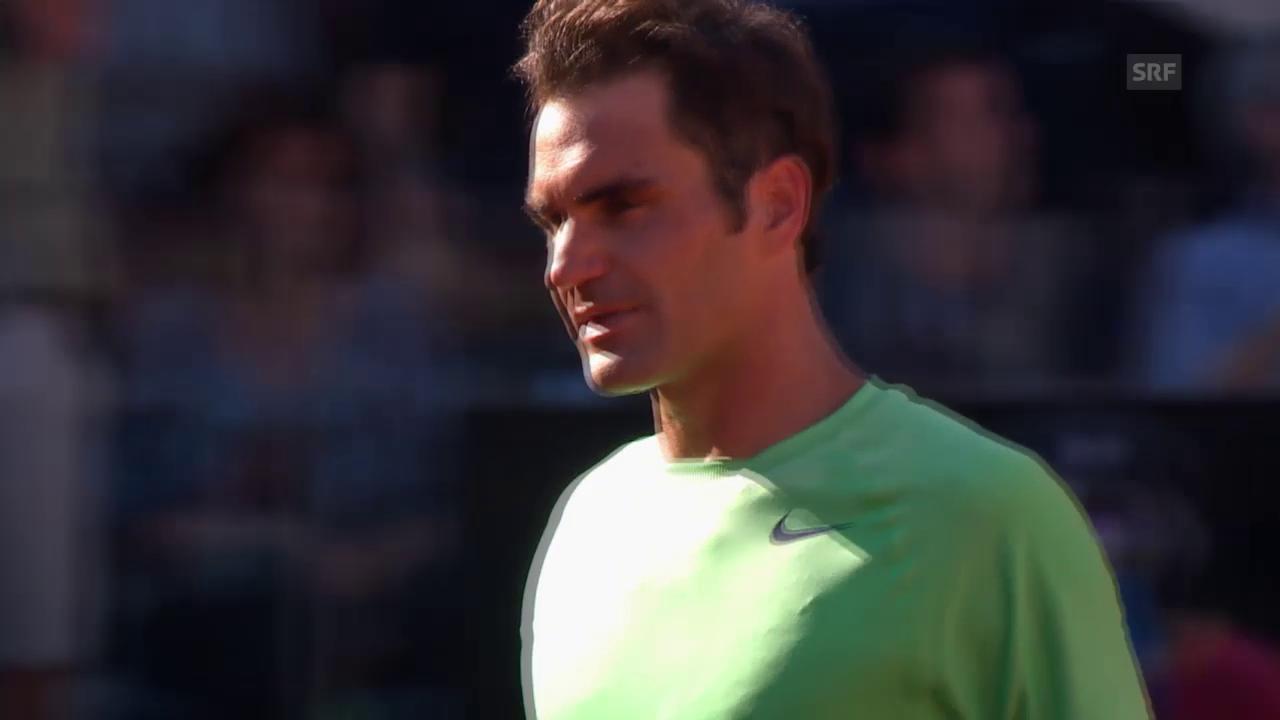 Die drei Finalniederlage von Roger Federer in Rom