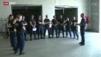 Video «Die Polizeischule - Herantasten an den Ernstfall» abspielen