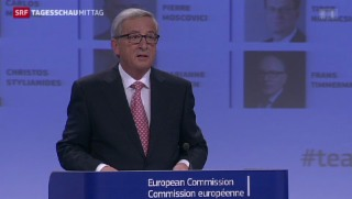Video «Juncker stellt EU-Kommission vor» abspielen