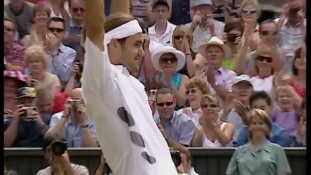 Federers letzte 10 Jahre im Wimbledon