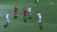Video «Andorras Martinez erzielt Traumtor gegen die Schweiz» abspielen