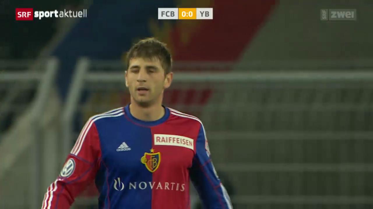 Fussball: Super League, Basel - YB