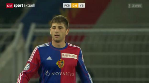 Video «Fussball: Super League, Basel - YB» abspielen
