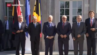 Video «EU-Gründungsstaaten drängen zur Eile» abspielen