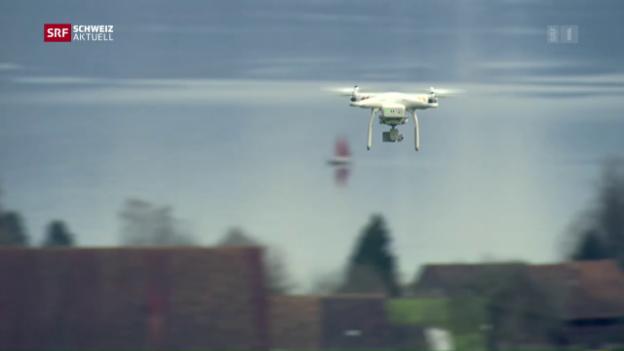 Video «Drohnenstreit landet vor Gericht» abspielen