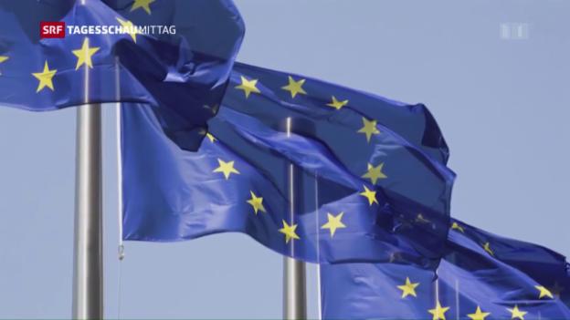 Video «Lackmustest der EU in den Niederlanden» abspielen