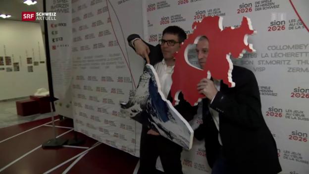 Video «Olympia 2026 in Sion nimmt erste Hürde» abspielen