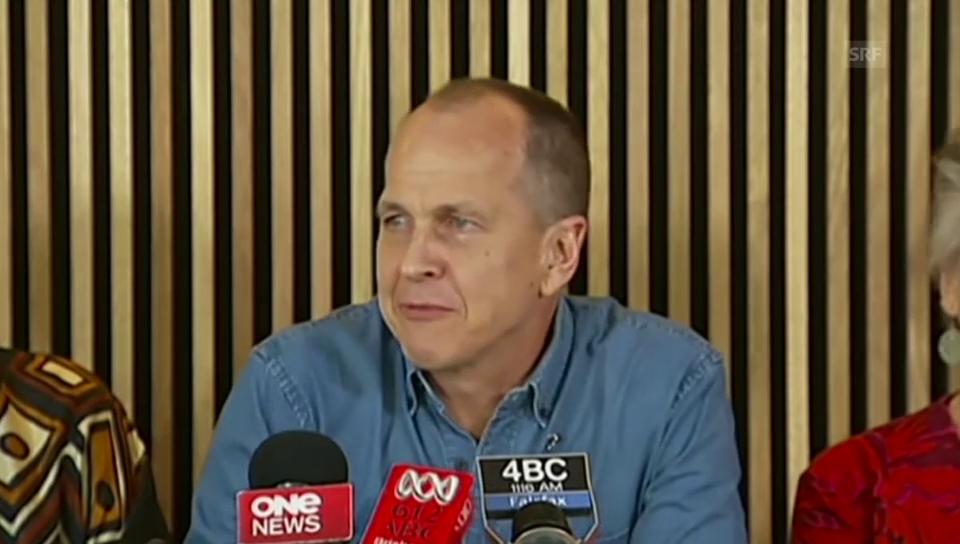 Peter Greste zur Freilassung