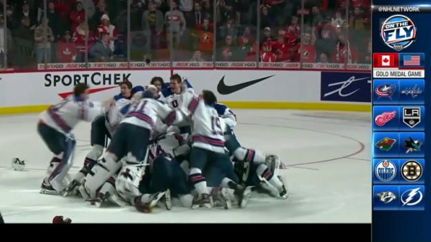 Video «U20: USA holt sich WM-Titel im Penaltyschiessen» abspielen