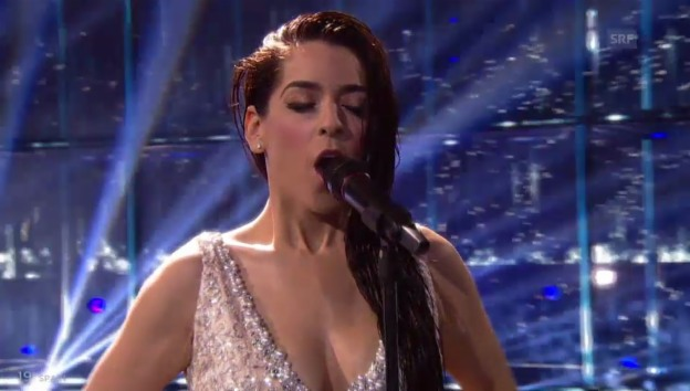 Video «Spanien – Ruth Lorenzo mit «Dancing In The Rain»» abspielen