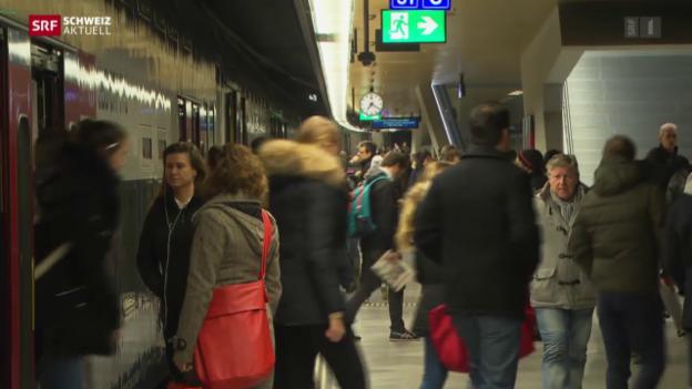 Video «Reibungsloser Fahrplanwechsel für Pendler in Zürich» abspielen