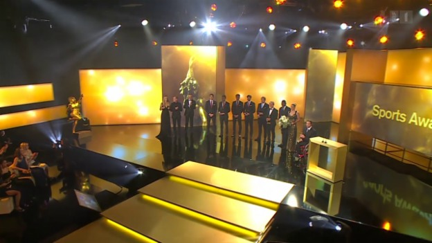 Video «Credit Suisse Sports Awards 2015» abspielen