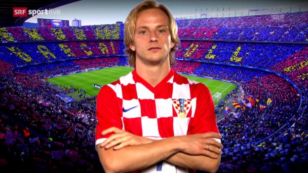 Video «Fussball: Rakitic - von Möhlin nach Barcelona» abspielen