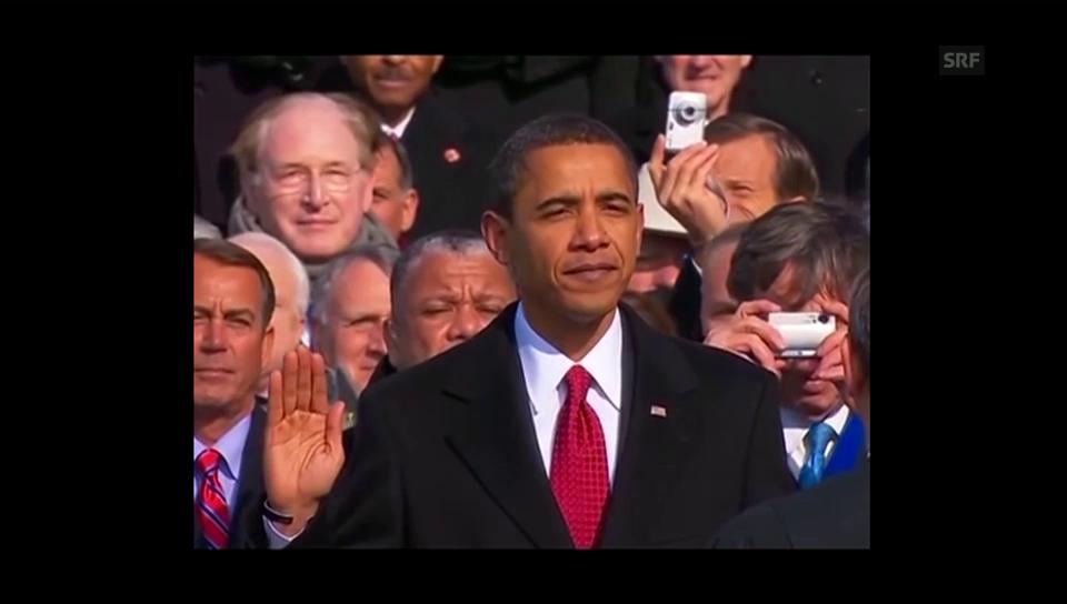 Obama verliert beim Eid den Faden