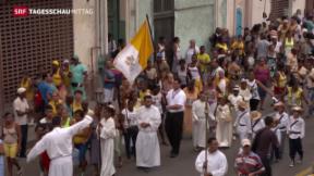 Video «Kuba vor Papstbesuch» abspielen