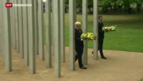 Video «Kränze für die Terror-Opfer von London» abspielen