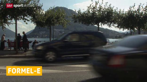Video «Formel E: Kein Rennen in Lugano» abspielen