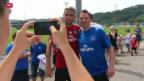 Video «Fussball: Wechsel von Behrami zum HSV perfekt» abspielen