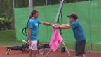 Video «Gemischtes Doppel: Warum Marc Sway für Stan Wawrinka singt» abspielen