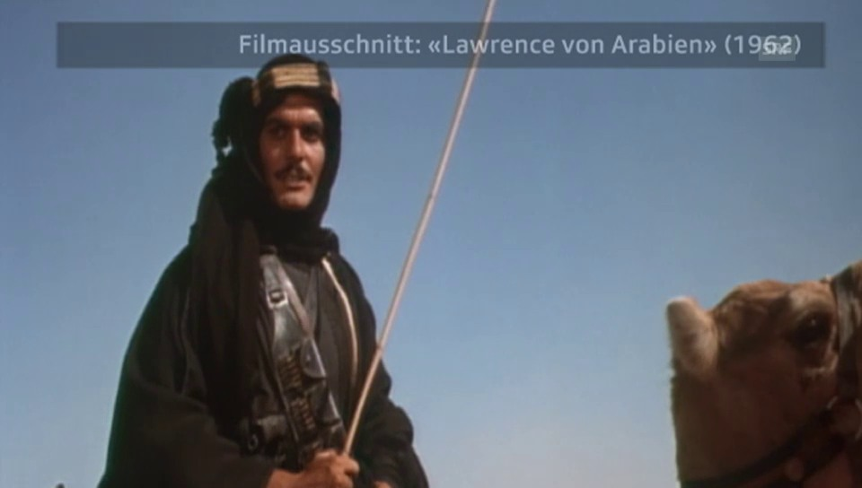 """""""Lawrence von Arabien"""" - ein Ausschnitt"""