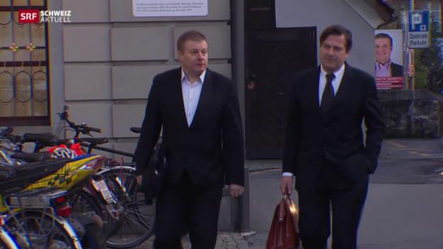 Video «Oberstaatsanwalt weist Vorwürfe zurück» abspielen