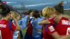 Video «Fussball: Frauen-WM, Südkorea - Spanien» abspielen