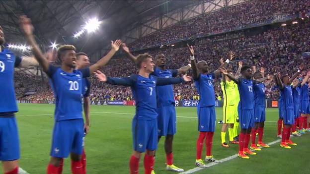 Video «Zusammenfassung Deutschland - Frankreich» abspielen