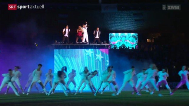 Video «LA: Das Team hinter der Eröffnungsfeier» abspielen