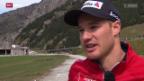 Video «Langlauf: Dario Cologna - 5 Monate vor Sotschi» abspielen