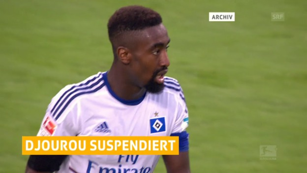 Video «Johan Djourou nicht mehr im HSV-Kader» abspielen