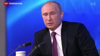 Video «Putin zu Ukraine-Krise» abspielen