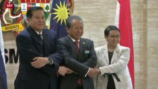 Video «Befristetes Asyl in Südostasien» abspielen