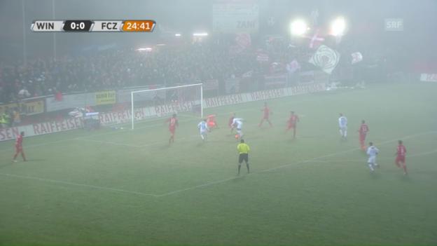 Video «Sieg im Derby: FCZ geht ungeschlagen in die Winterpause» abspielen