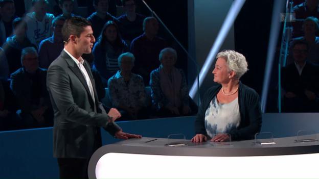 Video «Adieu Schweiz – Christine Haas» abspielen