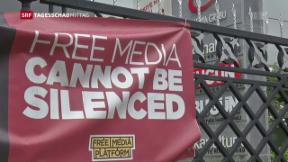 Video «Säuberung der unliebsamen Medien in der Türkei» abspielen