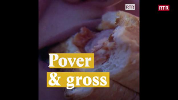 Laschar ir video «Pover & gross»