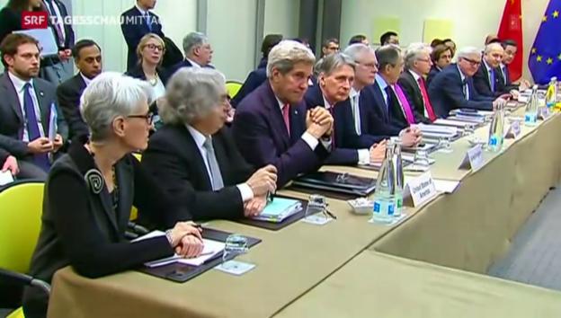 Video «Atomstreit: Die Zeit läuft» abspielen