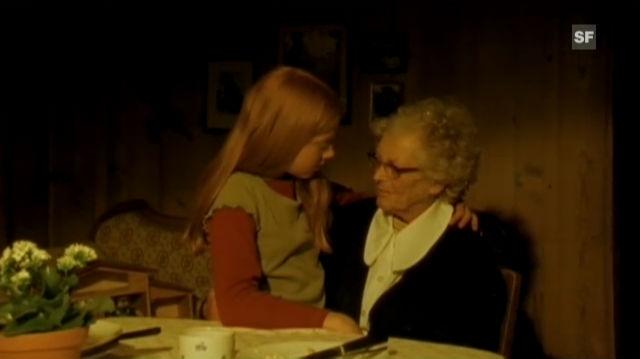 Kurzfilm «Wackelkontakt» mit Stephanie Glaser. Regie: Ralph Etter.